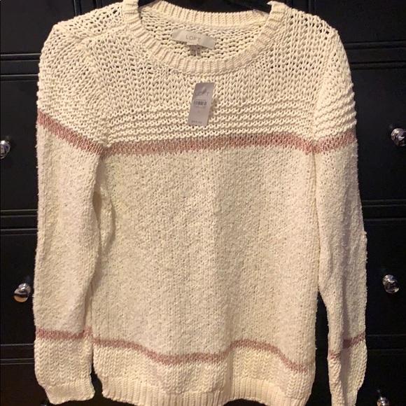 LOFT Sweaters - Loft white sweater